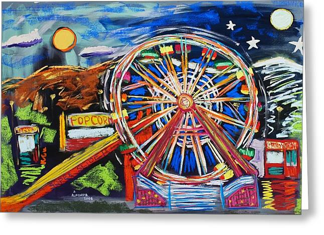 The Carnival Concoction Greeting Card by Albert  Almondia