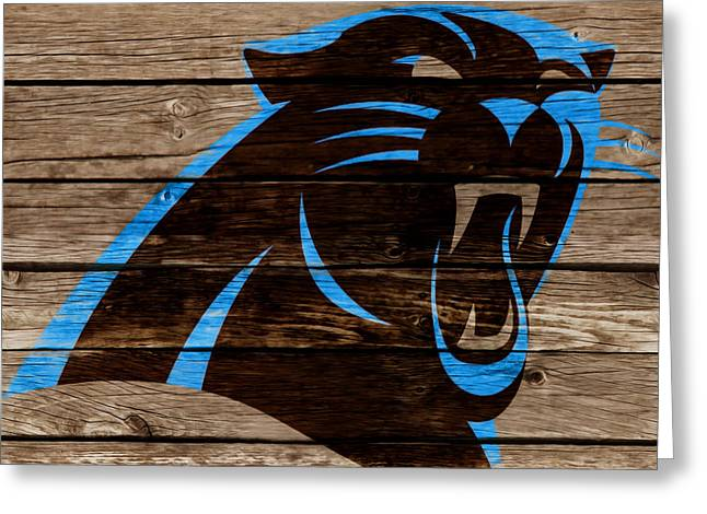 The Carolina Panthers 2e Greeting Card by Brian Reaves