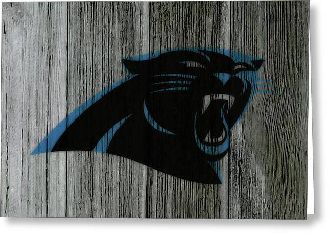 The Carolina Panthers C5 Greeting Card by Brian Reaves
