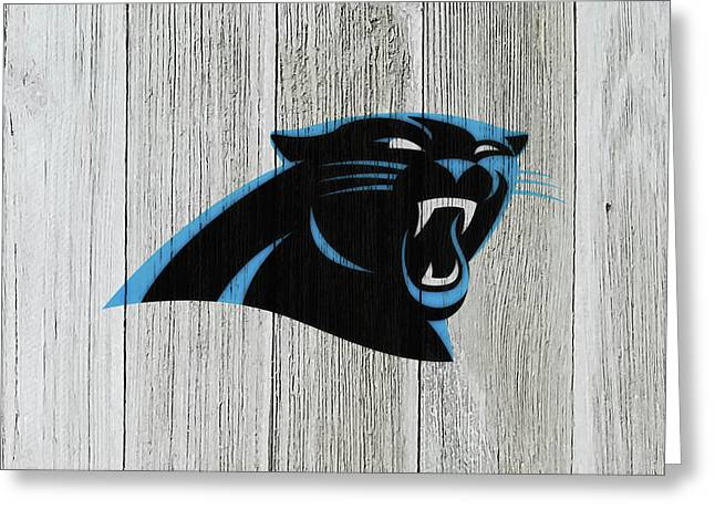 The Carolina Panthers C7 Greeting Card by Brian Reaves