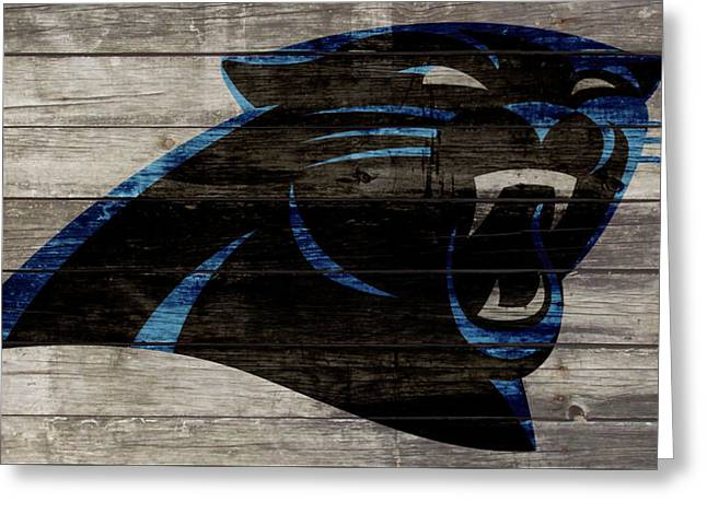 The Carolina Panthers W1 Greeting Card