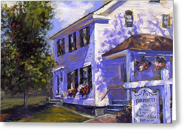 The Carpenters House Greeting Card