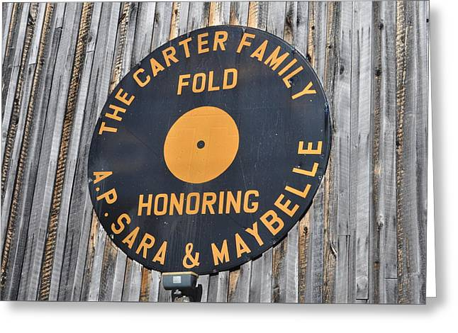 The Carter Family Fold Greeting Card by Amy Larson