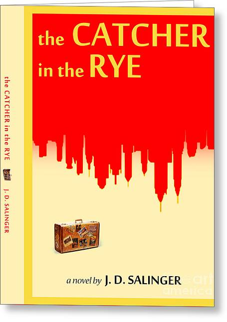 The Catcher In The Rye Book Cover Movie Poster Art 2 Greeting Card by Nishanth Gopinathan