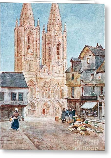 The Cathedral Front Greeting Card