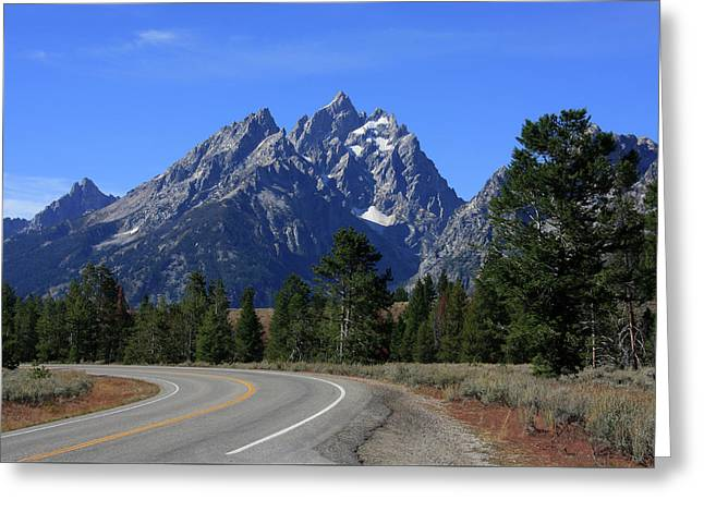 The Cathedral Group Of The Teton Range Greeting Card