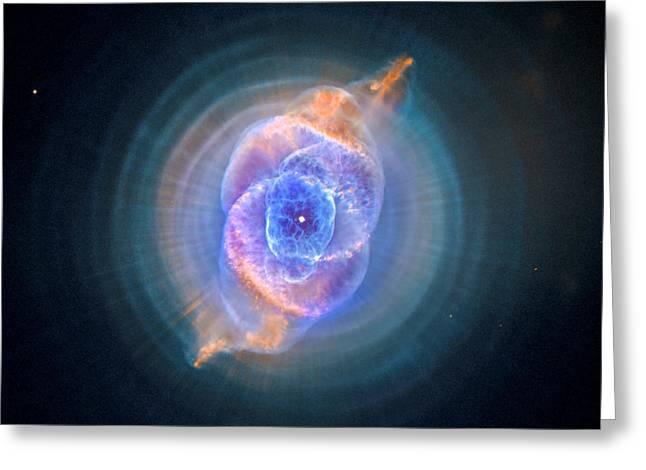 The Cat's Eye Nebula Greeting Card