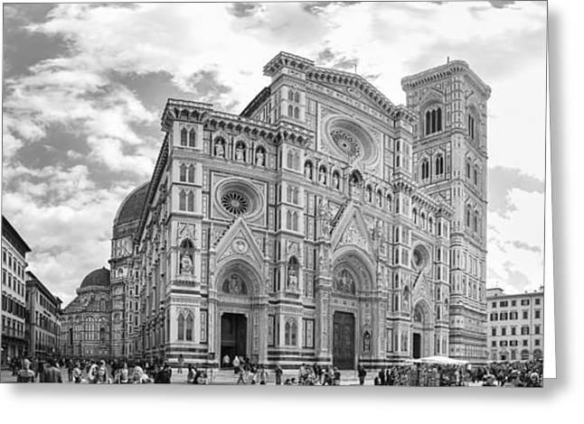 The Cattedrale Di Santa Maria Del Fiore, Italy Greeting Card by David Ortega Baglietto