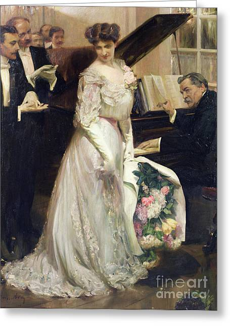 The Celebrated Greeting Card by Joseph Marius Avy