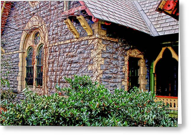 Greeting Card featuring the photograph Central Park Dairy Cottage by Sandy Moulder