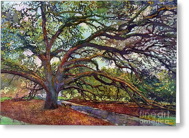 The Century Oak Greeting Card