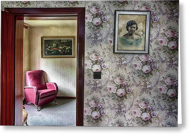 Greeting Card featuring the photograph The Chair Of Lost Opportunities by Dirk Ercken