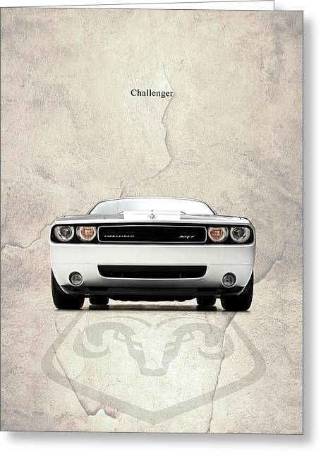 The Challenger Greeting Card by Mark Rogan