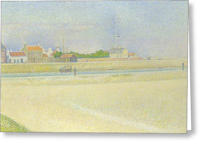 The Channel Of Gravelines, Grand Fort Philippe Greeting Card