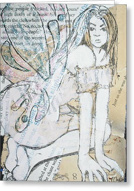 The Chant Greeting Card by Joanne Claxton