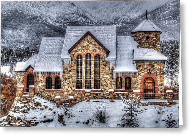 The Chapel Greeting Card by G Wigler