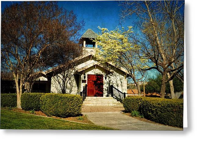 The Chapel Of Memories - Temecula Greeting Card