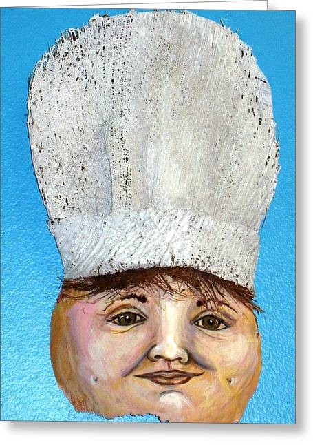 The Chef Greeting Card