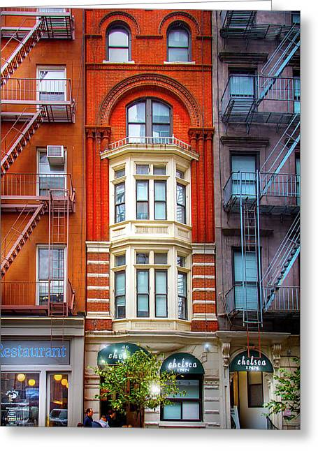 The Chelsea Inn Greeting Card by Mark Andrew Thomas