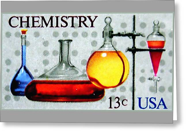 The Chemistry Centennial Stamp Greeting Card