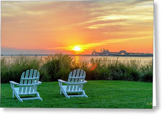 The Chesapeake Greeting Card by Brian Wallace