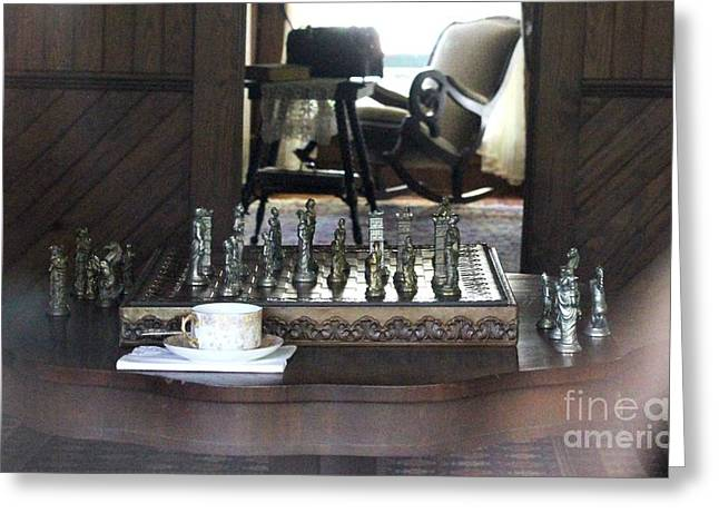 The Chess Board Greeting Card