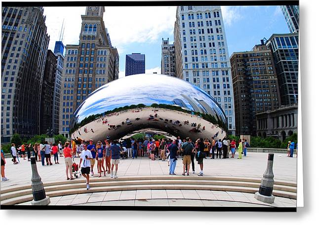 The Chicago Bean Greeting Card