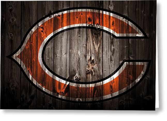 The Chicago Bears 2c Greeting Card