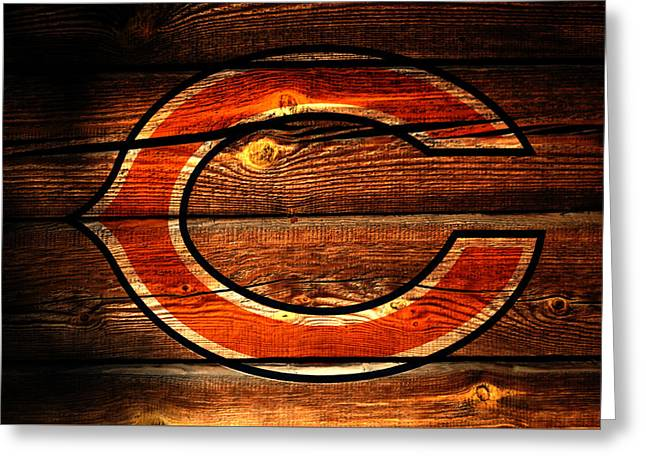 The Chicago Bears 3f Greeting Card