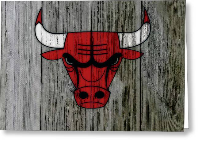 The Chicago Bulls C1                            Greeting Card