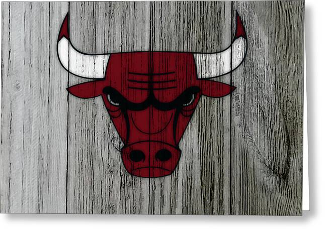 The Chicago Bulls C3                            Greeting Card
