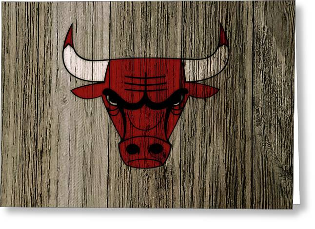 The Chicago Bulls C7                           Greeting Card