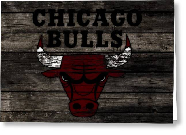 The Chicago Bulls W11 Greeting Card