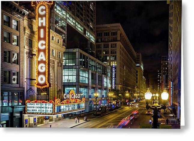 Illinois - The Chicago Theater Greeting Card