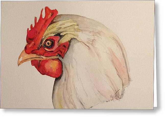 The Chicken Greeting Card
