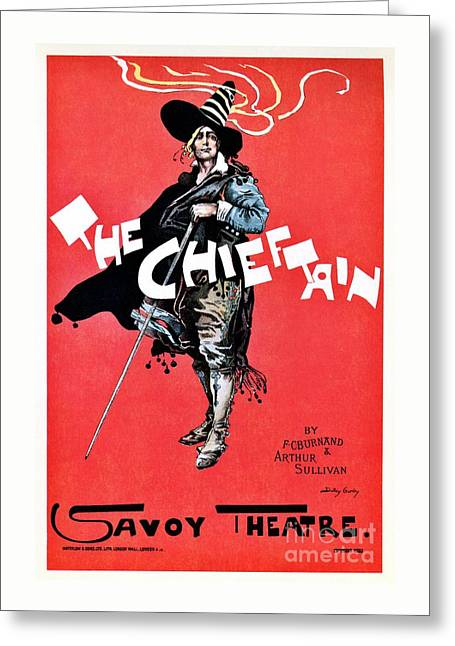 The Chieftain Savoy Theatre Greeting Card