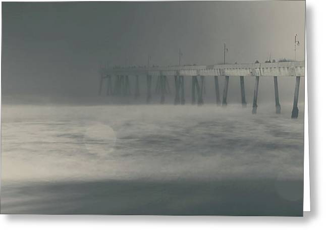 Greeting Card featuring the photograph The Chill In My Bones by Laurie Search