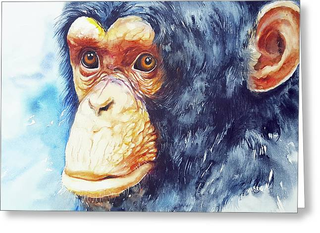The Chimp_ Jojo Greeting Card