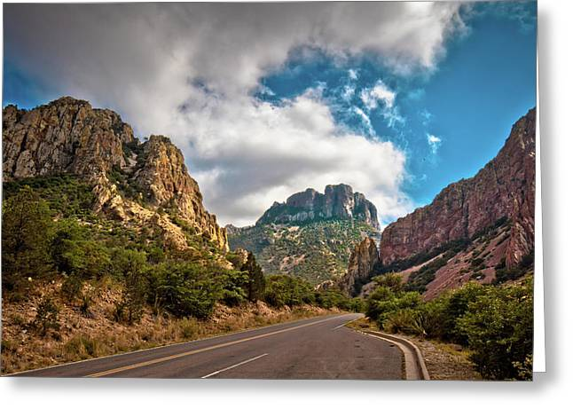 The Chisos Mountains Greeting Card