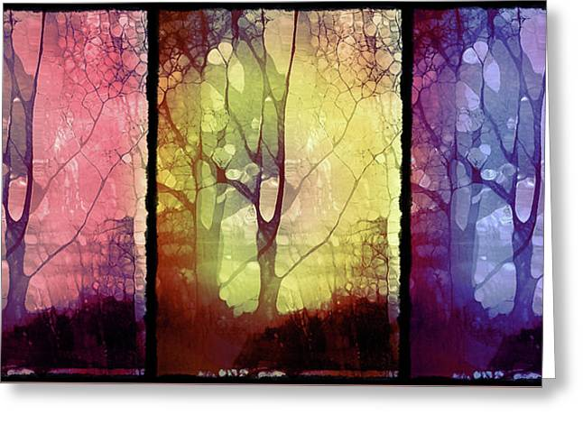 The Choices Of Trees Greeting Card by Tara Turner