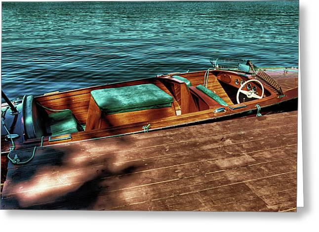 The Chris Craft Continental - 1958 Greeting Card