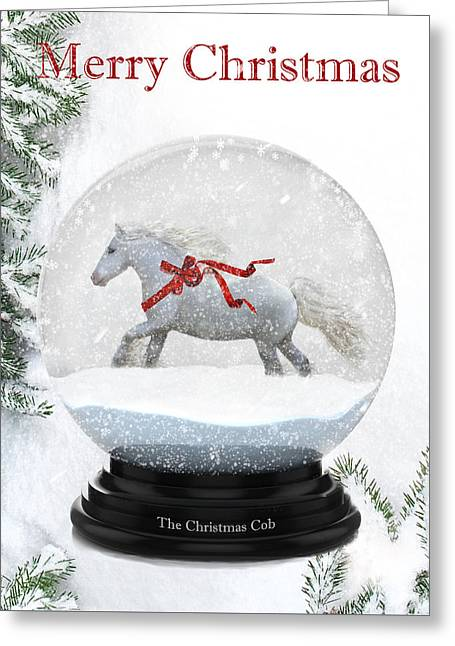 The Christmas Cob Greeting Card by Terry Kirkland Cook