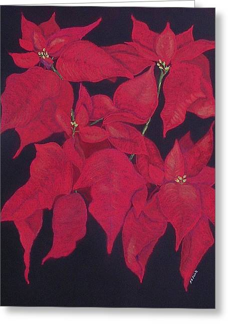 The Christmas Gift Greeting Card by Diane Frick