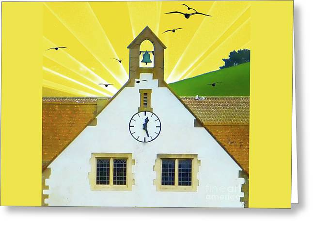 Greeting Card featuring the photograph The Church Bell by LemonArt Photography