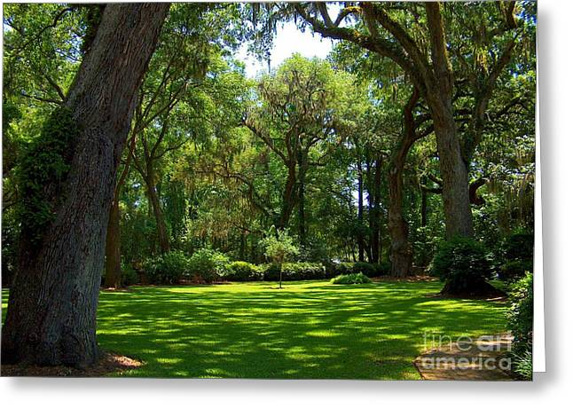The Churchyard Greeting Card by Southern Photo