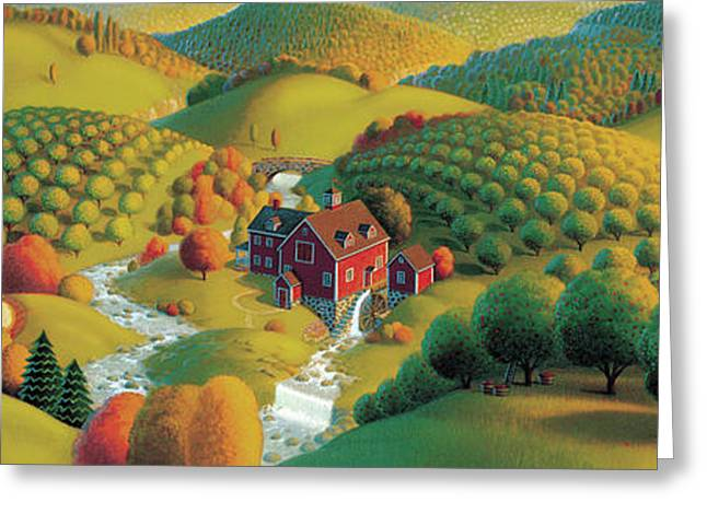 The Cider Mill Greeting Card