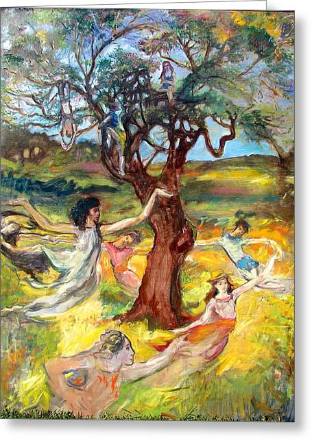 the Cinnamon Tree Greeting Card