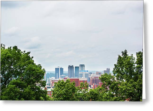 Greeting Card featuring the photograph The City Beyond by Shelby Young