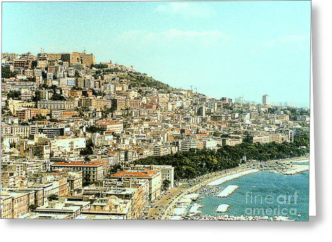Greeting Card featuring the photograph The City Of Sorrento, Italy by Merton Allen