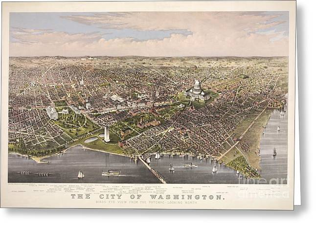 The City Of Washington Greeting Card